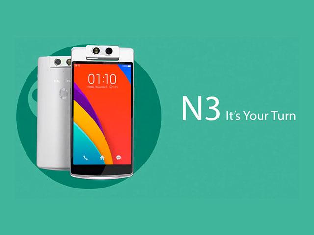 Oppo N3 officiel
