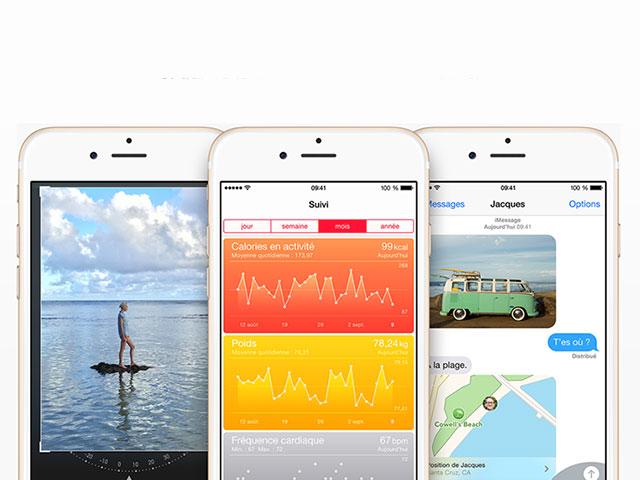 Optimiser batterie iOS 8