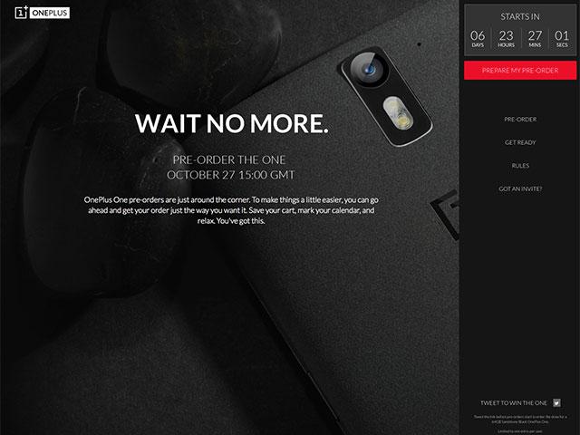 Pré-commandes OnePlus One