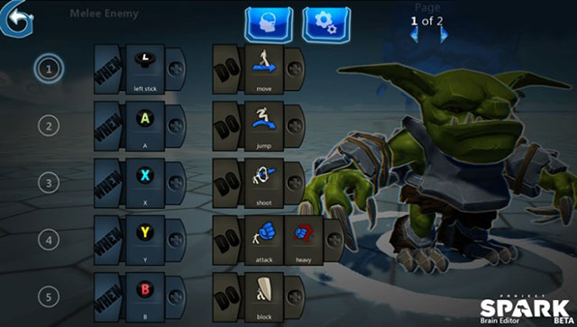 Project Spark : le bestiaire