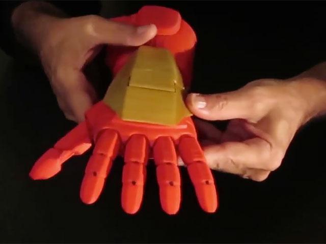 Prothèse Iron Man