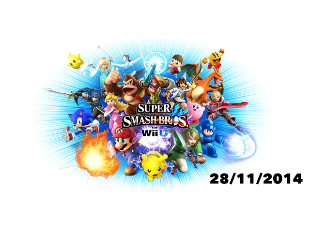 Super Smash Bros. for Wii U le 28 novembre