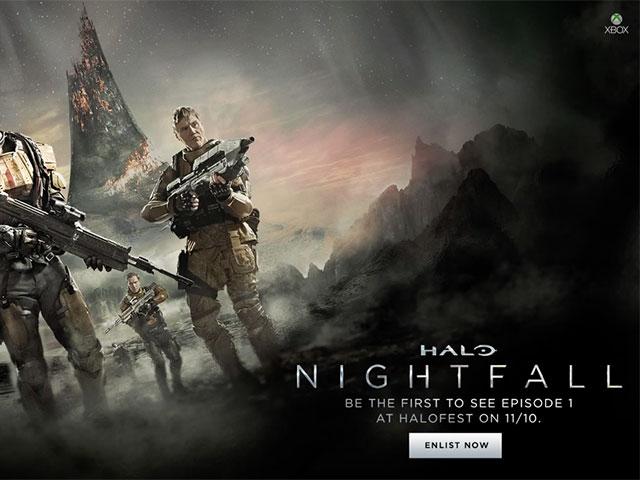 Bande annonce HALO Nightfall