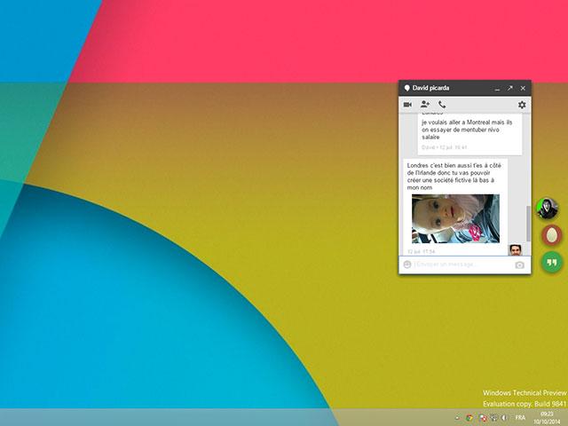 Utiliser Hangouts sur Chrome 2