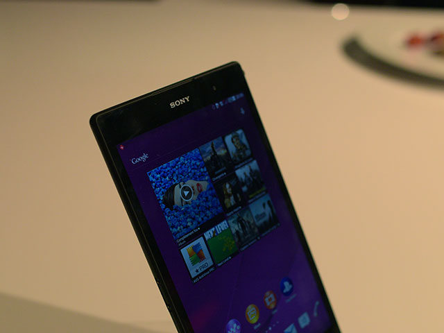 Sony Xperia Z3 Tablet : photo 1