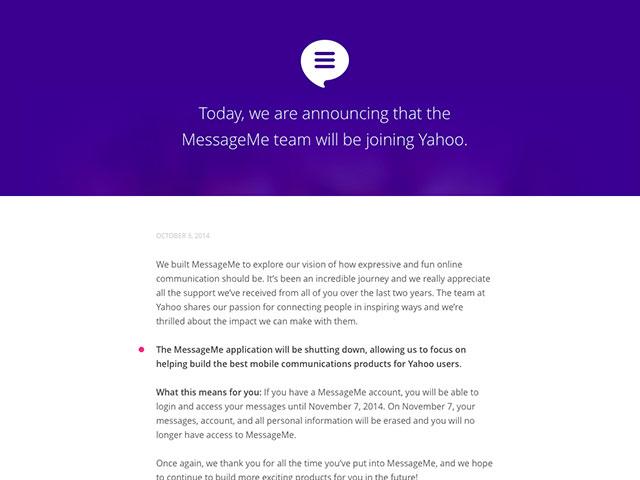Yahoo MobileMe