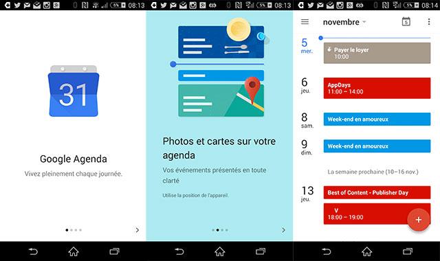 Captures Google Agenda 5.0