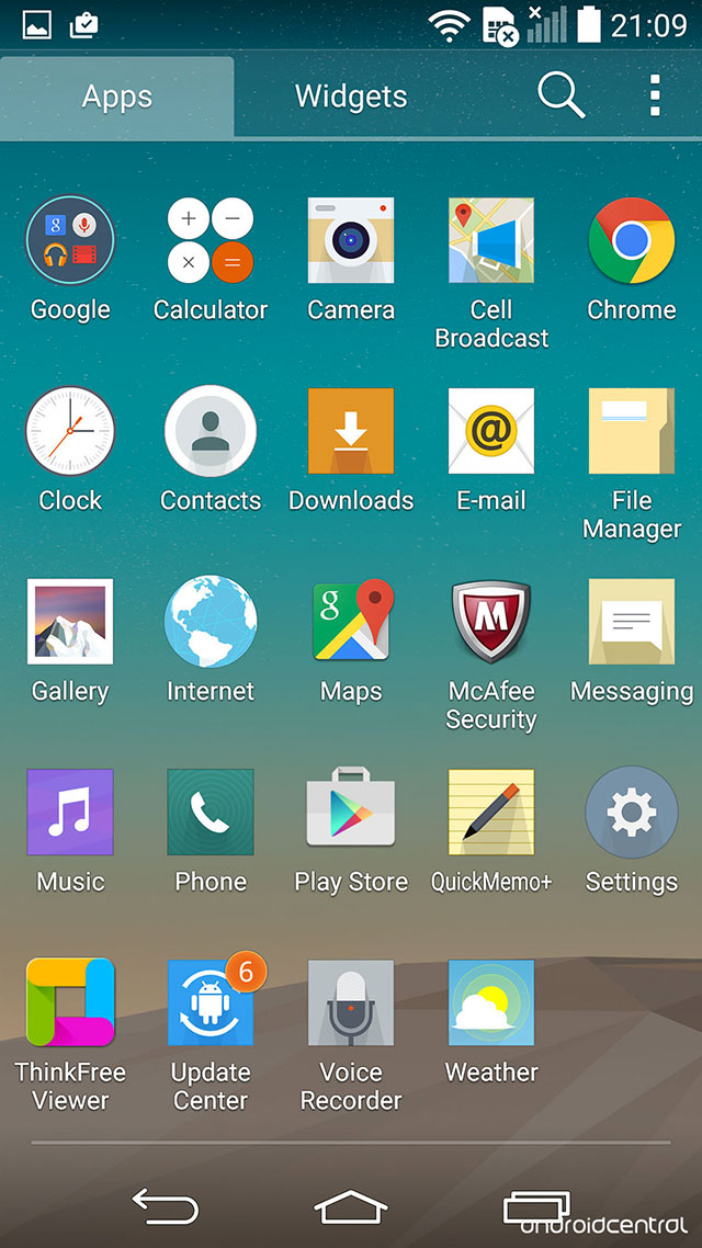 Android 5.0 LG G3 : image 6