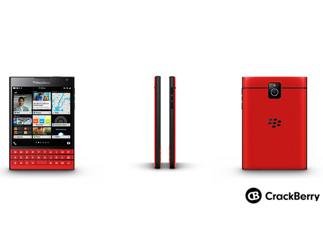 BlackBerry Passport Rouge
