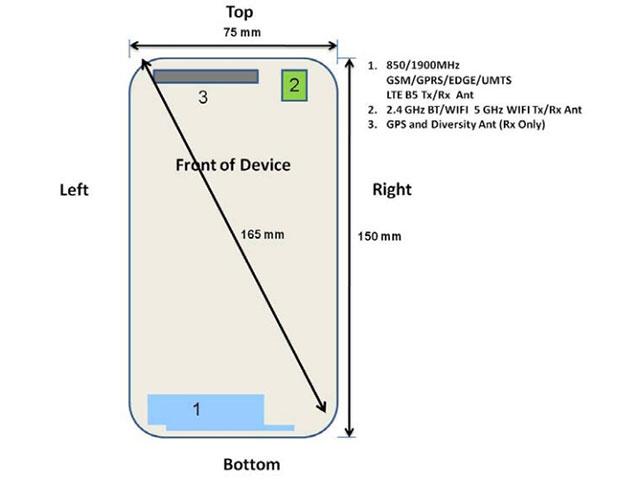 Galaxy A7 FCC