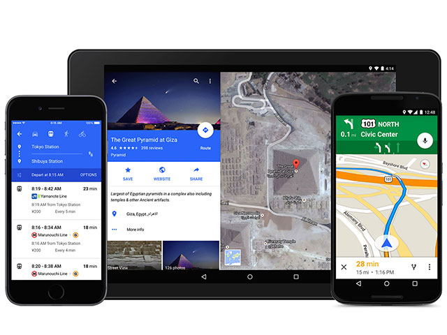 Google Maps : capture 1