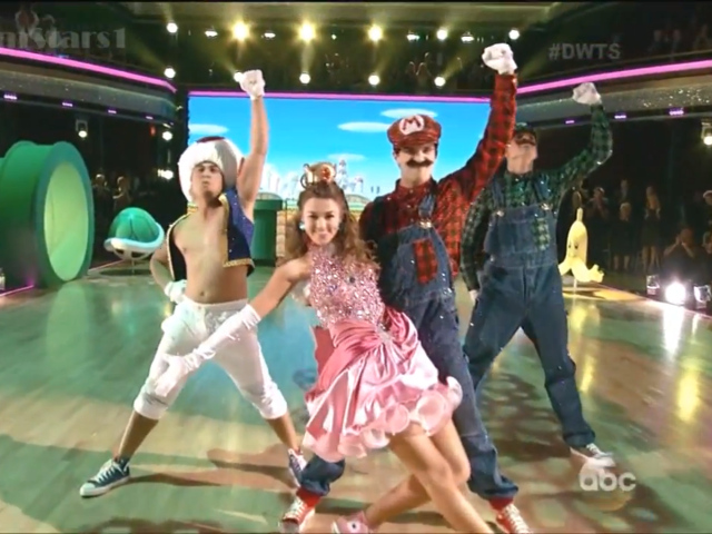 Mario dans Danse avec les Stars