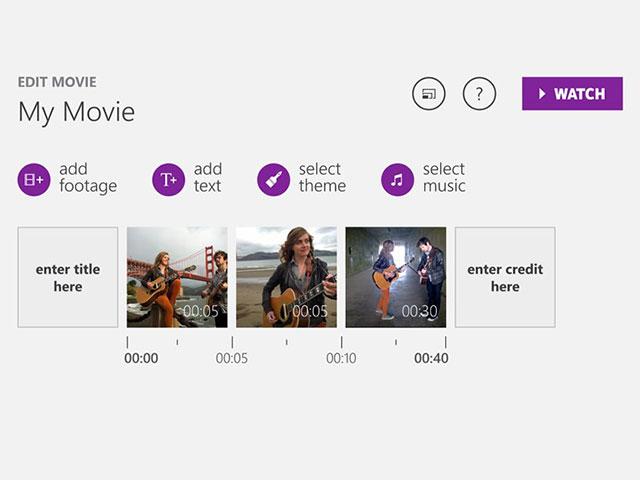 Microsoft Movie Creator Beta
