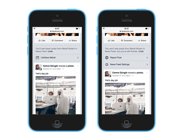 News Feed Facebook - maj nov14
