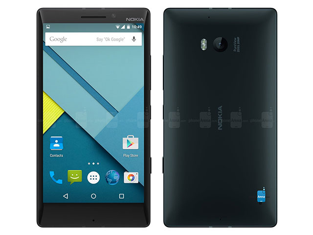 Nokia Lumia Android : concept 5