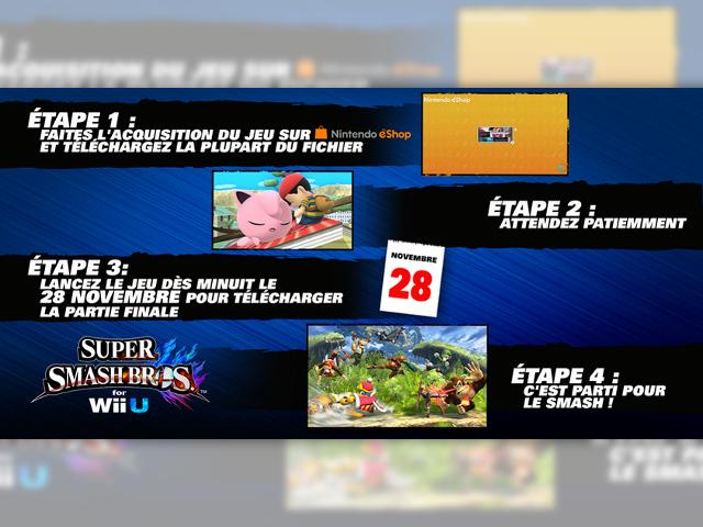 Pré-télécharger Super Smash Bros. for Wii U