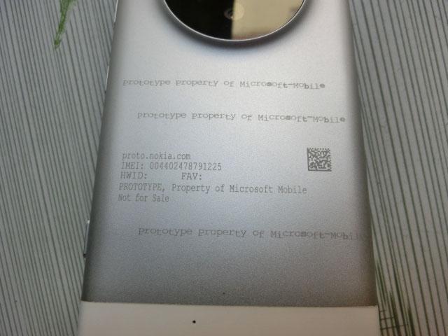 Prototype Lumia 1030 : image 6