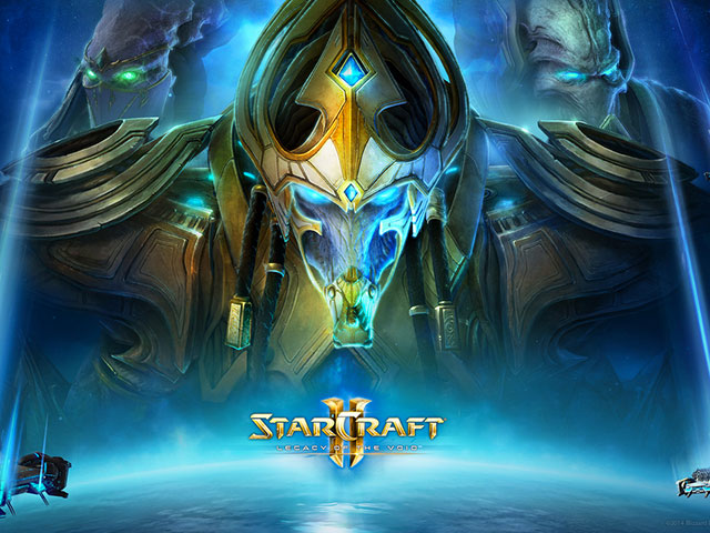 Starcraft 2 Legacy of the Void vidéo
