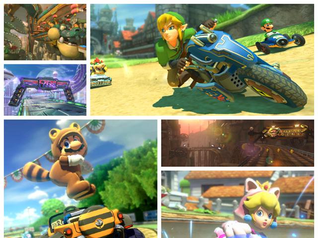 Zelda et Mario Kart 8