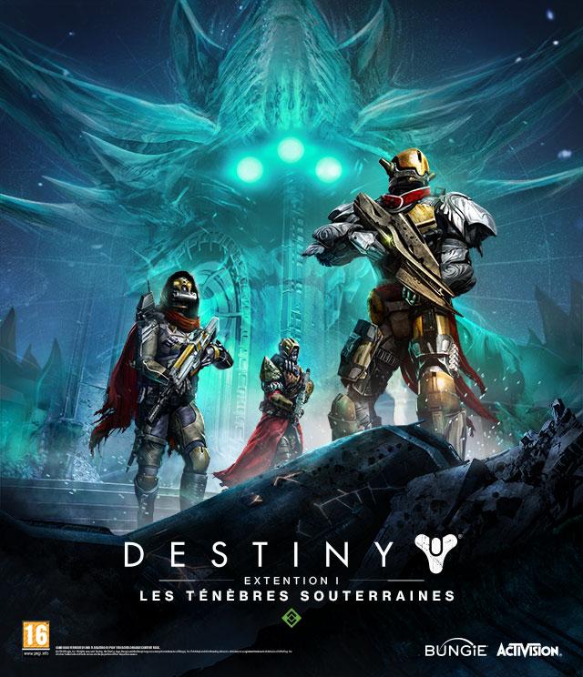 Destiny dlc exp 1 poster