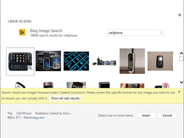 Bing Images + Clip Art