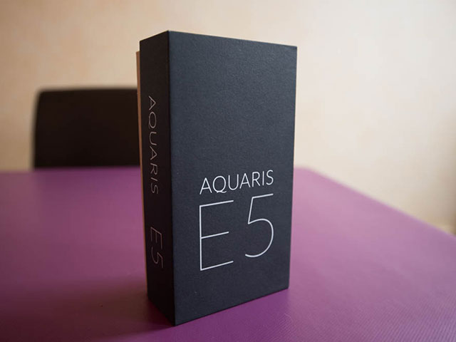 BQ Aquaris E5 4G : photo 1