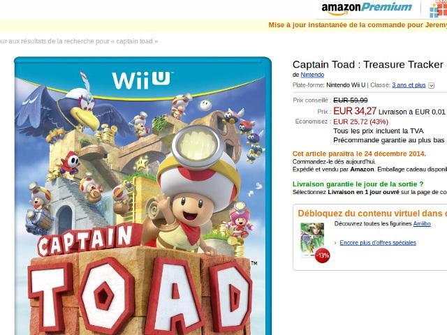 Captain Toad avancé