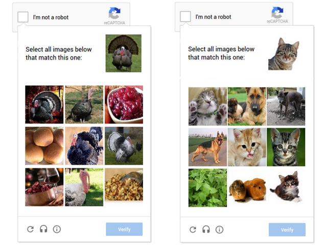 Le nouveau CAPTCHA de Google