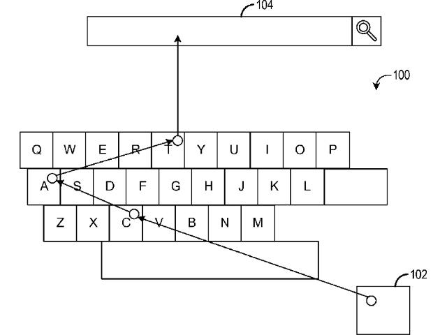 Le clavier de Microsoft