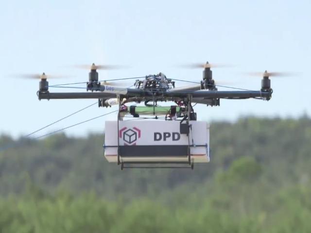 Un drone de La Poste