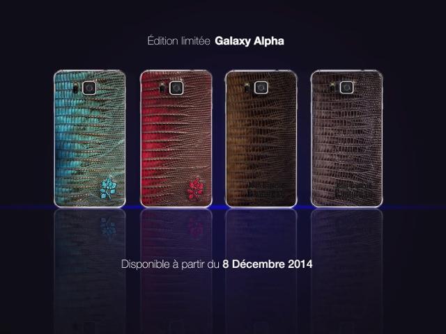 L'édition limitée du Samsung Galaxy Alpha