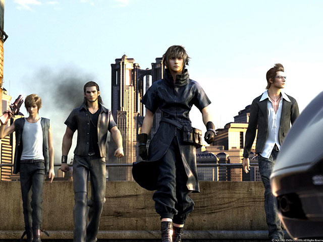 Version anglais vidéo Final Fantasy XV