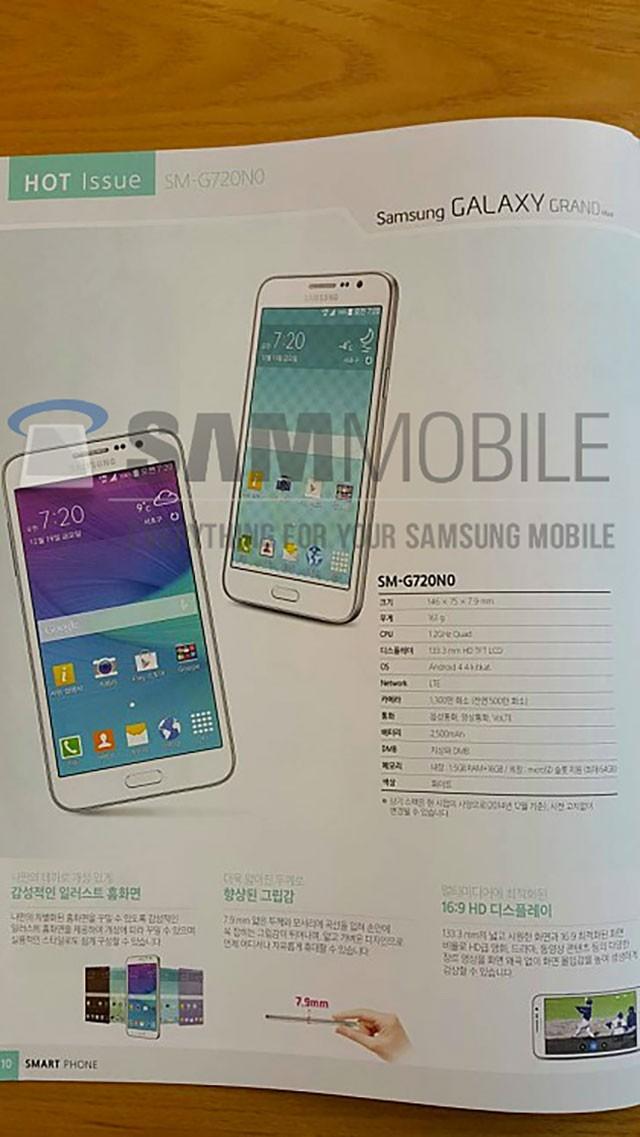 Leak Galaxy A7 Galaxy Grand Max image 1