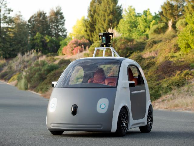 La voiture de Google