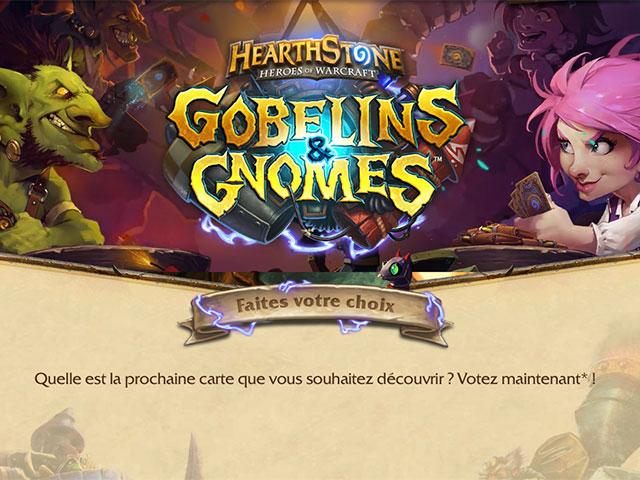 Hearthstone Gobelins et Gnomes