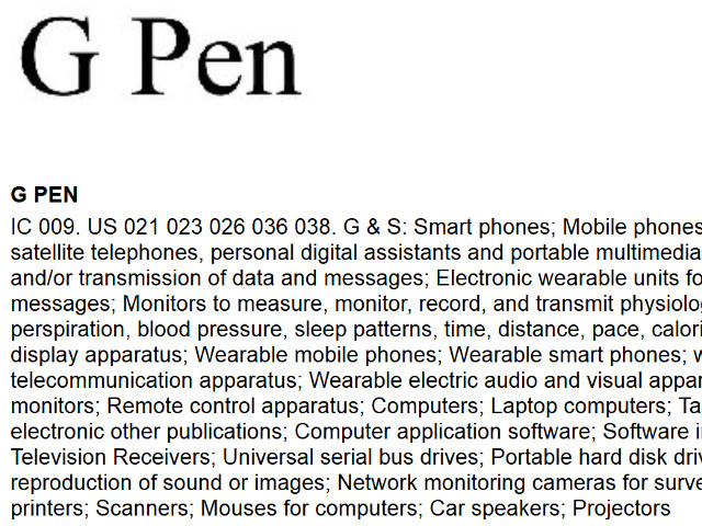 LG G Pen