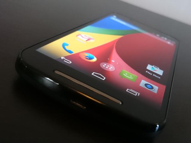 L'écran du Moto G