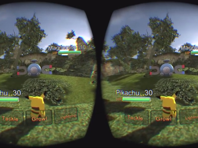 Pokémon en réalité virtuelle