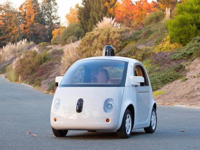 Prototype de voiture autonome Google