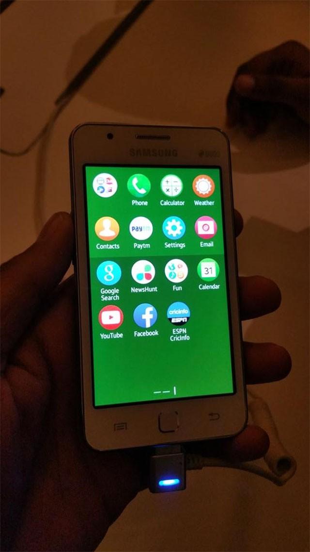 Samsung Z1 : photo volée 1