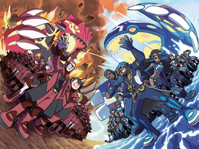 Team Aqua et Magma