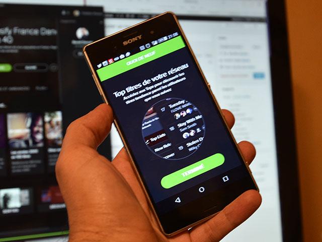 Top réseau Spotify