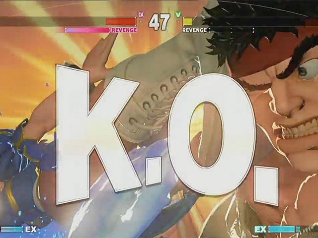 Vidéo Street Fighter V
