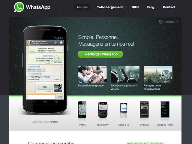 WhatsApp Web : image 1