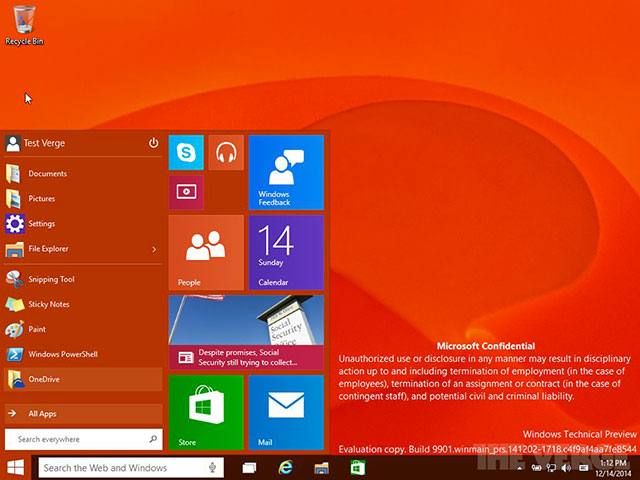 Windows 10 Consumer Preview : image 4
