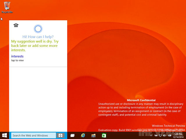 Windows 10 Consumer Preview : image 6