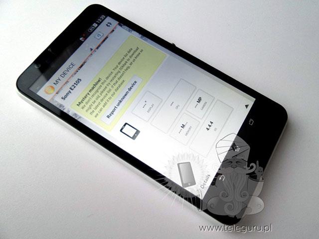 Sony Xperia E4 : photo volée 2