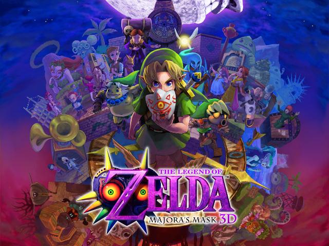 Zelda Majora's Mask 3D