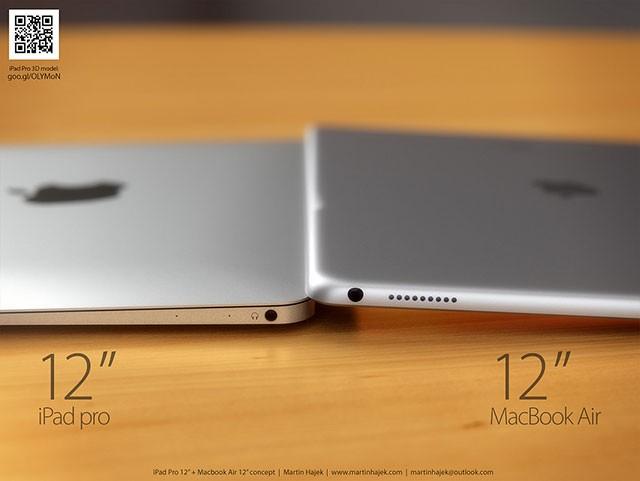 Concept iPad Pro + MacBook Air 12 pouces : image 1
