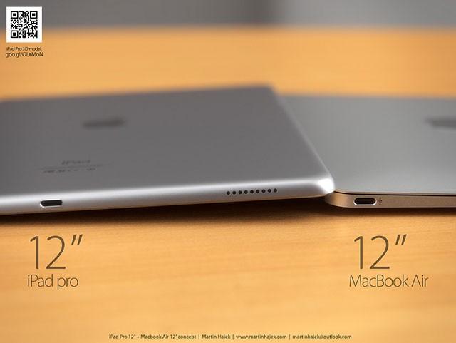 Concept iPad Pro + MacBook Air 12 pouces : image 2